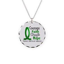 Courage Faith 1 TBI Necklace