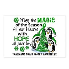 Christmas Penguins TBI Postcards (Package of 8)