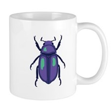 Purple Beetle Mugs
