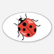 Red Ladybug Decal