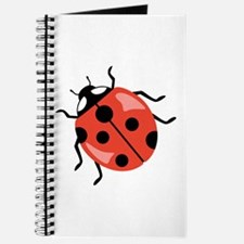 Red Ladybug Journal