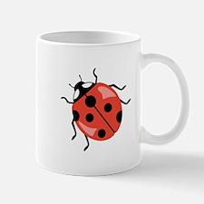 Red Ladybug Mugs