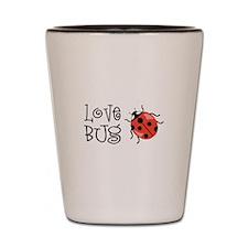 Love Bug Shot Glass