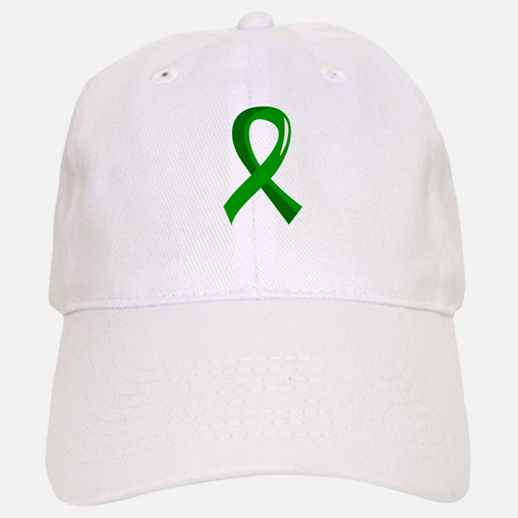 Awareness Ribbon 3 TBI Baseball Baseball Cap