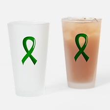Awareness Ribbon 3 TBI Drinking Glass