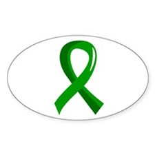 Awareness Ribbon 3 TBI Decal