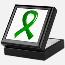 Awareness Ribbon 3 TBI Keepsake Box
