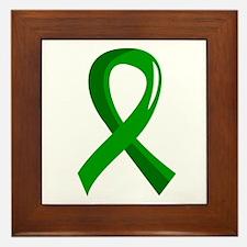 Awareness Ribbon 3 TBI Framed Tile