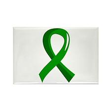 Awareness Ribbon 3 TBI Rectangle Magnet (10 pack)