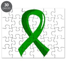Awareness Ribbon 3 TBI Puzzle