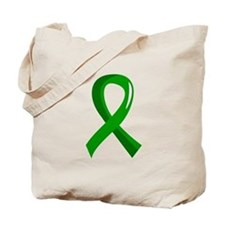 Awareness Ribbon 3 TBI Tote Bag