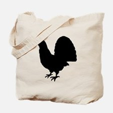 Grouse Silhouette Tote Bag