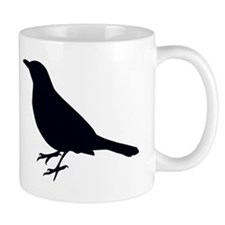 Blackbird Silhouette Mugs