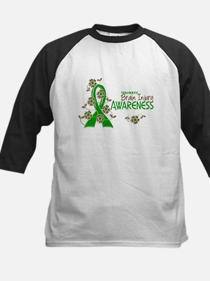Awareness 6 TBI Kids Baseball Jersey