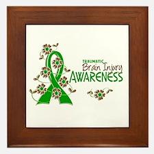 Awareness 6 TBI Framed Tile