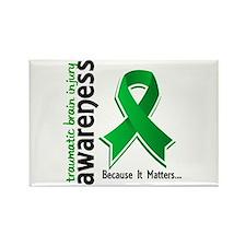 Awareness 5 TBI Rectangle Magnet (10 pack)