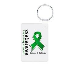 Awareness 5 TBI Keychains