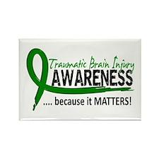 Awareness 2 TBI Rectangle Magnet