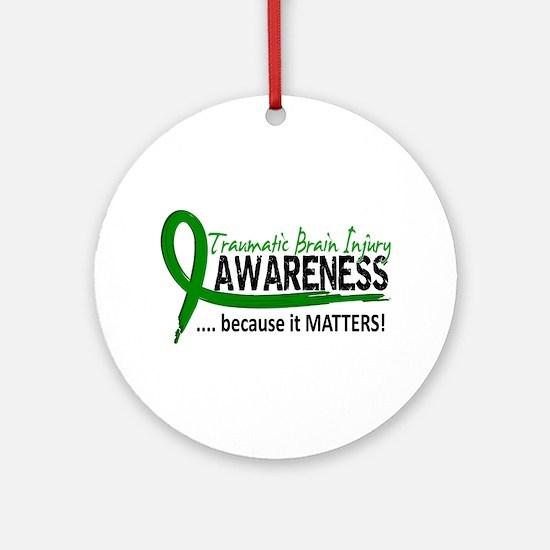 Awareness 2 TBI Ornament (Round)