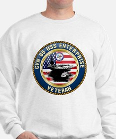 CVN-65 Enterprise Veteran Sweatshirt
