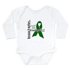 Awareness 1 TBI Long Sleeve Infant Bodysuit