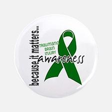 """Awareness 1 TBI 3.5"""" Button"""