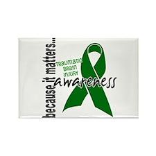 Awareness 1 TBI Rectangle Magnet