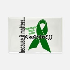 Awareness 1 TBI Rectangle Magnet