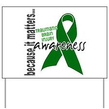 Awareness 1 TBI Yard Sign