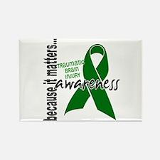 Awareness 1 TBI Rectangle Magnet (10 pack)