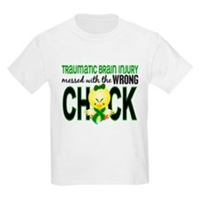 Messed With Wrong Chick 1 TBI T-Shirt