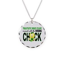 Messed With Wrong Chick 1 TB Necklace