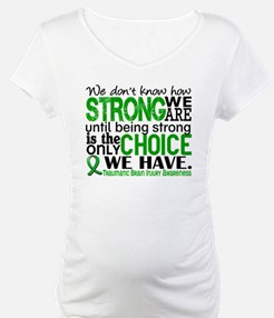 How Strong We Are TBI Shirt
