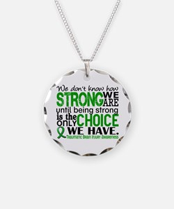 How Strong We Are TBI Necklace