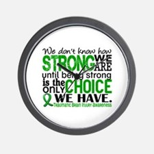 How Strong We Are TBI Wall Clock
