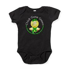 Chick Gone Green 5 TBI Baby Bodysuit