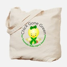 Chick Gone Green 5 TBI Tote Bag