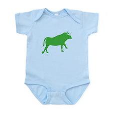 Green Bull Body Suit
