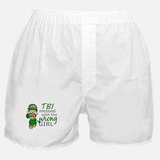 Combat Girl TBI Boxer Shorts