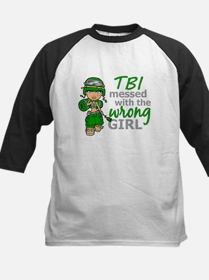 Combat Girl TBI Kids Baseball Jersey