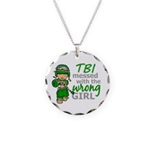 Combat Girl TBI Necklace
