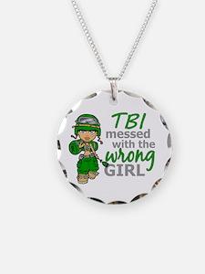 Combat Girl TBI Necklace