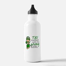 Combat Girl TBI Water Bottle