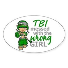 Combat Girl TBI Decal