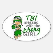 Combat Girl TBI Decal