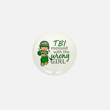 Combat Girl TBI Mini Button (10 pack)