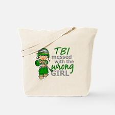 Combat Girl TBI Tote Bag