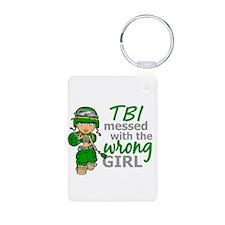 Combat Girl TBI Keychains