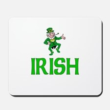 Irish Leprechaun Mousepad