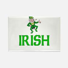 Irish Leprechaun Rectangle Magnet